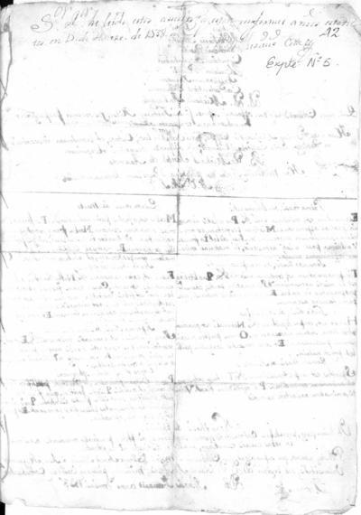 Expediente de Pruebas de Legitimidad y Limpieza de Sangre de Miguel Joseph de Aranda, para la obtención del Grado de Bachiller en Medicina.