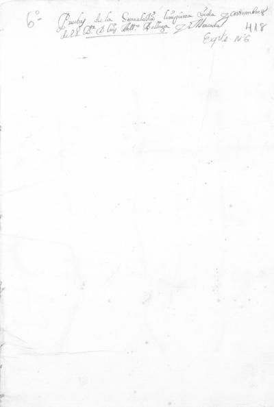 Expediente de Pruebas de Legitimidad y Limpieza de Sangre de Luís Antonio Belluga Moncada, para la obtención de una Beca de entrada en el Colegio de Santa María de Jesús