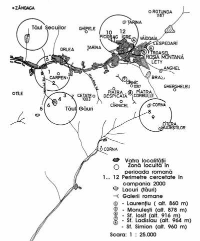 Necropola romană de la Alburnus Maior- Tăul Cornii