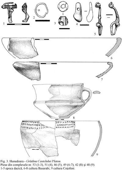 Situl arheologic de la Hunedoara - Grădina Castelului
