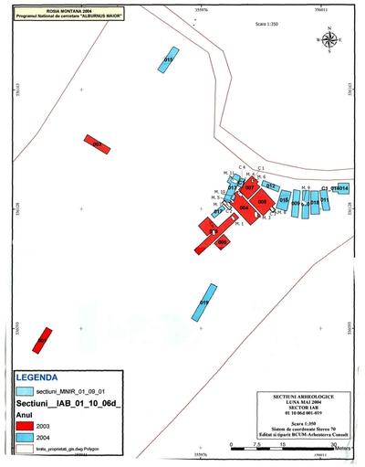 Situl arheologic de la Alburnus Maior- Jig