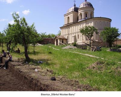 Biserica Sf. Nicolae - Banu de la Nicorești