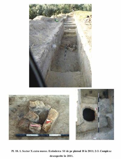Termele romane și necropolele de la Capidava - sector X