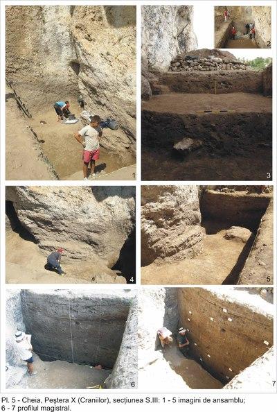 Așezările din peștera de la Cheia - Peștera La Baba