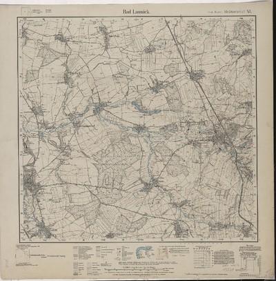 Omnia Blatt 1 69 Aus Topographische Karte Messtischblatter