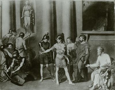 Der Abschied des Aeneas von Troja
