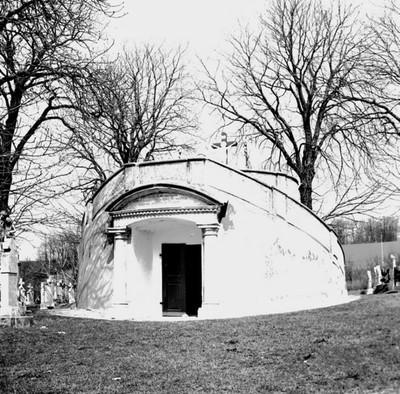 Kálvária a temetőben