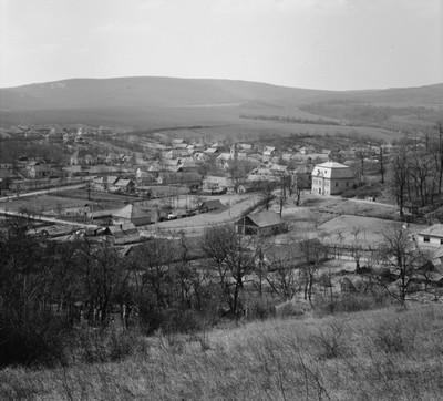 A falu látképe