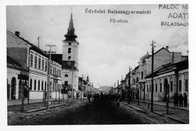Fő utca részlet