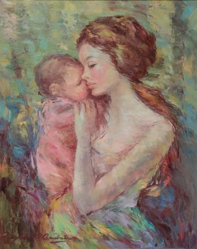 Fiatal anya