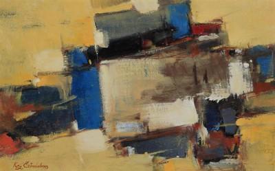 Kompozíció sárgában II