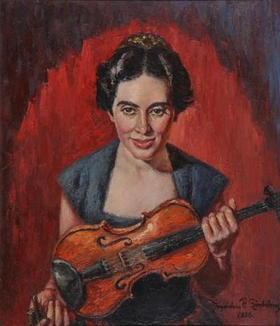 Dorogi Eitler Márta hegedűművész. London