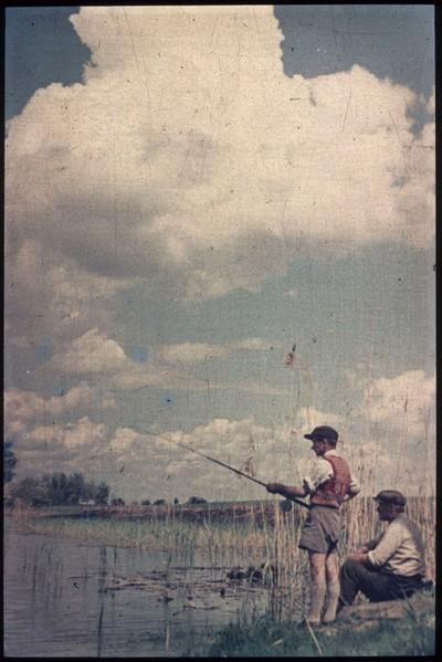 Horgászok a Körösön