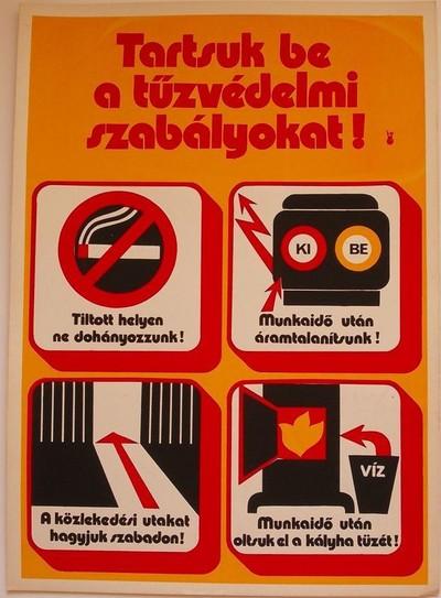 Munkavédelmi plakát