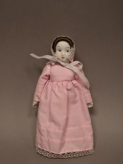 Gyűjtői darab: japán baba