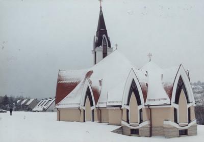Zalaegerszeg-Kertváros Mindszenty-templom
