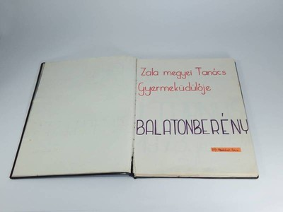 Balatonberény, 1978