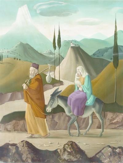 Molnár C. Pál: Menekülés Egyiptomba