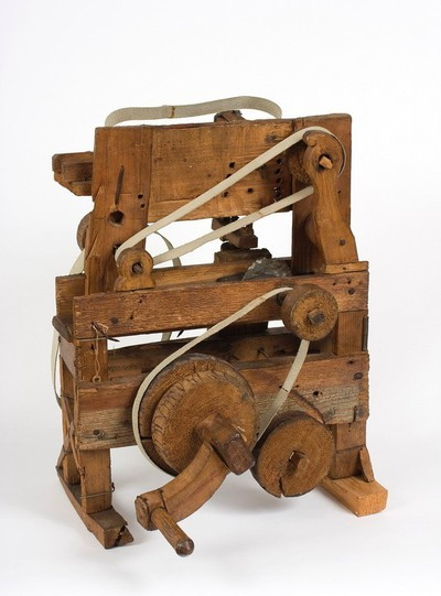 Fűrészgép modellje