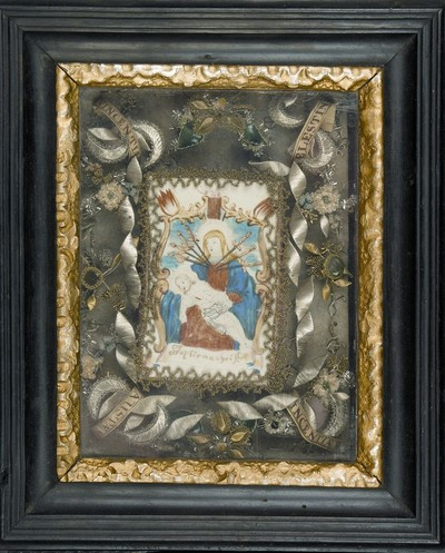 "Pietá (""Bapthisme Christi"" felirattal)"