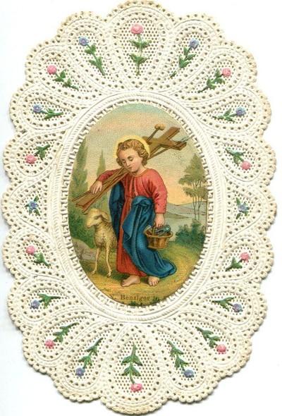gyermek Jézus a kínzóeszközeivel