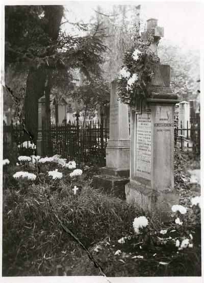 Veress Ferenc sírja