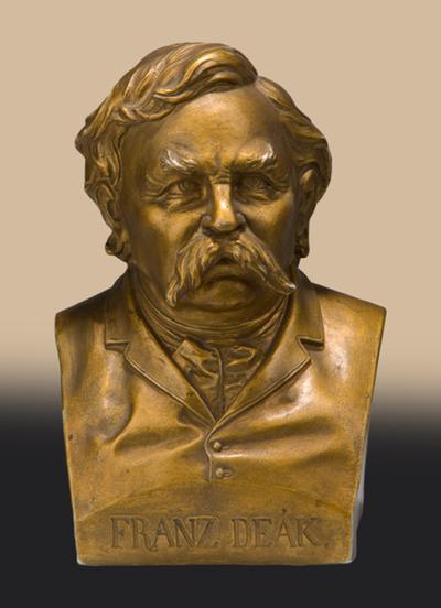 Deák Ferenc mellszobra