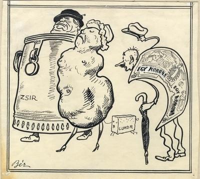 Infláció (Karikatúra)