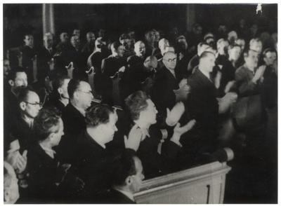 Az Ideiglenes Nemzetgyűlés ülése Debrecenben