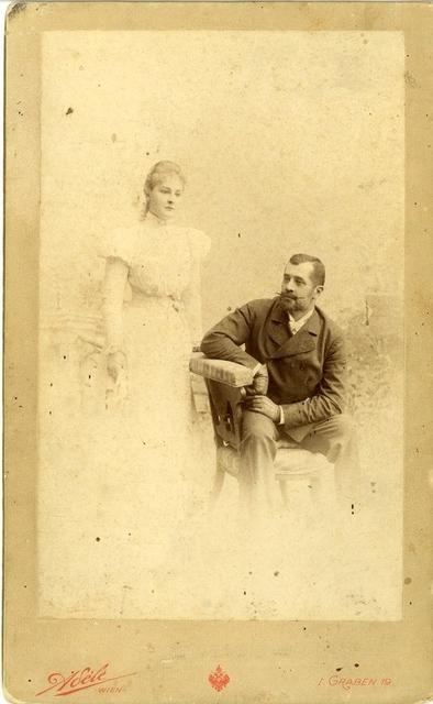 Károlyi László és felesége Apponyi Franciska.