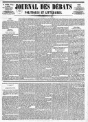 Le Journal des Débats politiques et littéraires - 1846-01-12