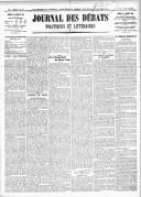 Le Journal des Débats politiques et littéraires - 1918-01-15