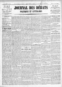 Le Journal des Débats politiques et littéraires - 1918-03-07