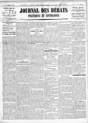 Le Journal des Débats politiques et littéraires - 1918-03-27