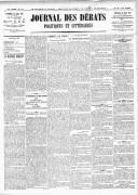 Le Journal des Débats politiques et littéraires - 1918-04-26