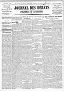 Le Journal des Débats politiques et littéraires - 1918-05-25