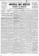 Le Journal des Débats politiques et littéraires - 1918-09-08