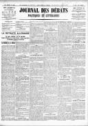 Le Journal des Débats politiques et littéraires - 1918-09-09