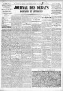 Le Journal des Débats politiques et littéraires - 1918-09-18