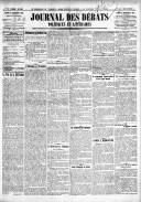 Le Journal des Débats politiques et littéraires - 1918-11-18