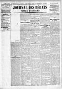 Le Journal des Débats politiques et littéraires - 1918-12-04