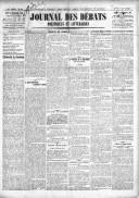 Le Journal des Débats politiques et littéraires - 1918-12-12