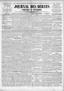 Le Journal des Débats politiques et littéraires - 1924-03-08