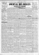 Le Journal des Débats politiques et littéraires - 1924-03-09