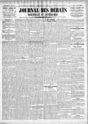 Le Journal des Débats politiques et littéraires - 1924-11-21