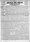 Le Journal des Débats politiques et littéraires - 1924-12-23