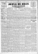 Le Journal des Débats politiques et littéraires - 1924-12-25