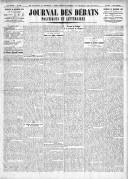Le Journal des Débats politiques et littéraires - 1924-12-26