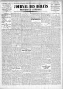 Le Journal des Débats politiques et littéraires - 1924-12-27