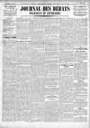 Le Journal des Débats politiques et littéraires - 1924-12-30